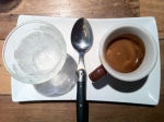 Mineral Water and Espresso