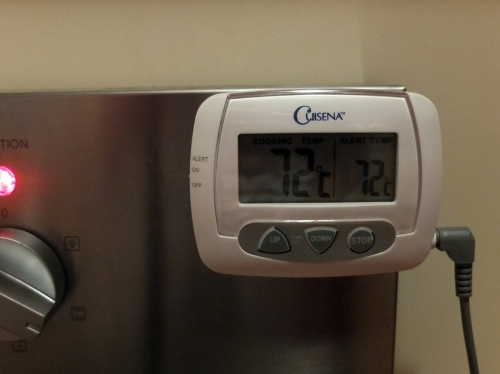 15. Oven at 72 Degrees