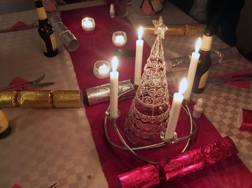 6. Christmas Table