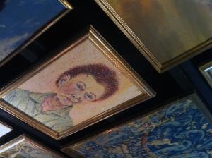 The Elk & Pea Paintings on the Ceiling