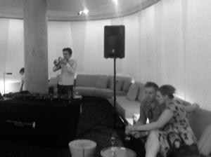 DJ and Trumpet