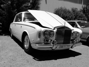The Governor-General's car (chauffeur on break)