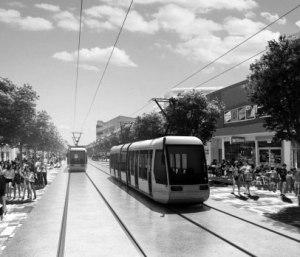 Canberra-Tram-BW