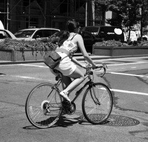 Cyclist-BW